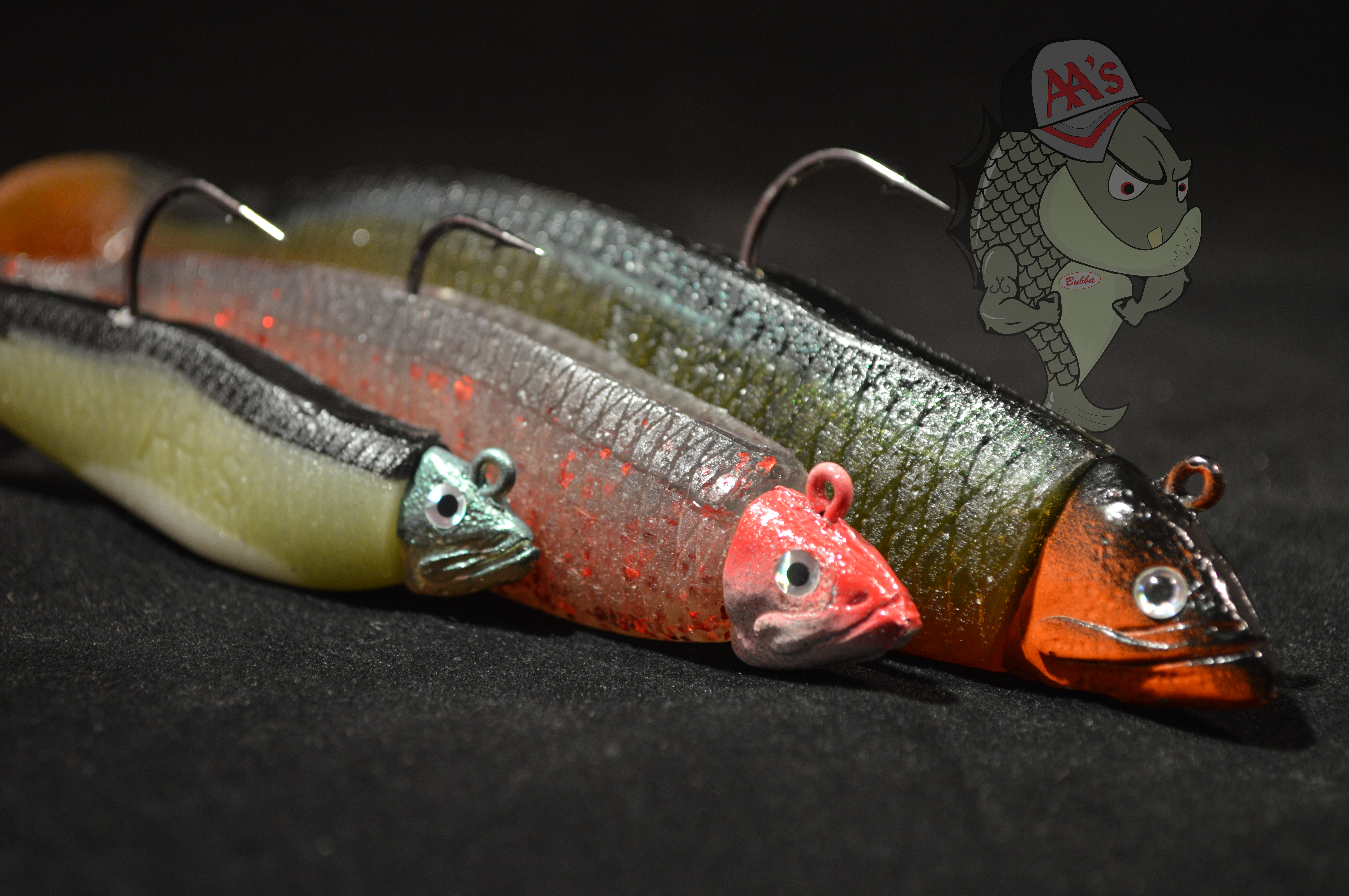 icast 2015: AA worms Bad Bubba Shad
