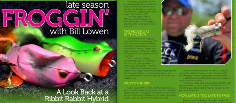 Late Season Froggin' with Bill Lowen