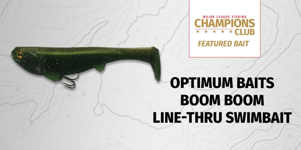 MLF Featured Bait: Optimum Baits Boom Boom Line-Thru Swimbait